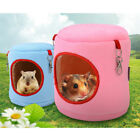 warm bed rat hammock squirrel winter toys pet hamster cage house hanging nest eb