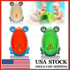 Children Cute Frog Shaped Potty Toilet Training Urinal Boys Pee Trainer image
