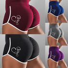 Women Gym Sports Shorts Ruched High Waist Yoga Hot Pants Fitness Push Up Casual
