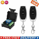DC12V Relay 1CH Wireless RF Garage Door Remote Control Switch Transmitter UK
