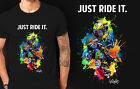 just ride it Valentino Rossi t-shirt Vr46 Signature Shirt the doctor