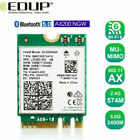 EDUP Bluetooth 5.0 Wifi 6 3000Mbps AX200NGW PCI-E Wireless Card Adapter 2.4/5Ghz
