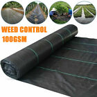1m-4m Heavy Duty Weed Membrane Weed Control Suppressant Fabric Ground Cover Mat
