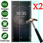 2X Tempered Glass Screen Protector Full Cover Sony Experia Xperia XA1 GORILLA