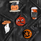 Pin Brooches Halloween Backpack Goth Badges Different Hard Enamel Lapel Ghost#