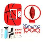 Adjustable Suspension Netball Hoop Mini Basketball Plate for Children's Game New