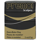 Premo! Sculpey Modeling Clay, 2 oz., Black image