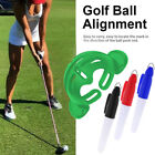 Golf Ball Line Marker Set Tools 3 Pens Stamp Template Drawing Marks Alignment AU