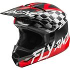 FLY Racing 2020 Youth Kinetic Sketch Helmet - Red/Black/Grey