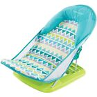 Summer Infant Deluxe Baby Bather, Triangle Stripe,Baby Bath Seat for newborn