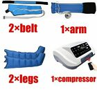 Pressotherapy Air Compression Leg Foot Massager Vibration Infrared Therapy Arm W