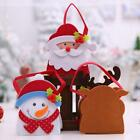 Christmas Kids Candy Gift Bags Packing Santa Claus Storage Wraps Bag Ho