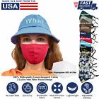 Cloth Face Mask Reusable 3D 100% Cotton Washable Adjustable Unisex Made-in-USA