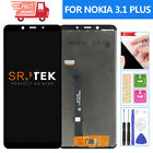 For Nokia 3.1 Plus Screen Replacement TA-1124 LCD Display Touch Digitizer Sensor