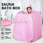 2.2L Portable Folding Home Steam Sauna Personal SPA Loss Weight Detox Body Slim