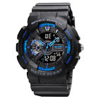 Fashion Military Men's Sport Digital Quartz Analog 50M Waterproof Wrist Watch US