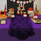 Table Runner Lace Tablecloth Halloween Spider Web Cover Kitchen Decoration Ho