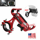 USA 360° Aluminum Motorcycle Bike Bicycle For MTB GPS Cell Phone Holder Mount
