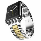 For A pple Watch Series 5/4/3/2 Stainless Steel Band for iWatch Strap 38mm-44mm