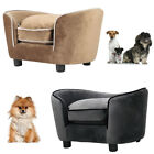 Comfy Pet Dog Sofa Bed Cat Kitty Puppy Couch Soft Cushion Chair Seat Lounger UK