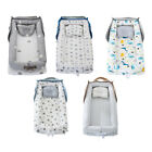 Cotton Baby Lounger Infant Nest Bassinet for Bed Newborn Lounger Portable Cribs