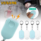 Emergency Personal Alarm Keychain 130dB Safe Self-Defense with LED Flash Light