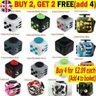 Fidget Cube Spinner Toy Children Desk Adults Stress Pressure Relief Cubes NV UK