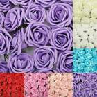144pcs Artificial Flowers Mini Foam Roses Home Wedding Bouquet Decor Cheap