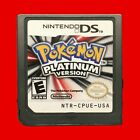 Nintendo DS - Pokemon Games - HeartGold SoulSilver Platinum Diamond Pearl & More