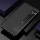 SAMSUNG PHONE COVER SIDE WINDOW LEATHER FLIP