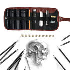 30/32/42Pcs Professional Sketching Drawing Set Art Pencil Kit Artists Tool