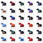 Classic Embroidered NFL Flat Brim Hip Hop Cap Snap-back Sports Hat For Unisex