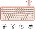 Wireless Bluetooth Mechanical Keyboard 84-Key Typewriter Keypad For PC MAC Home