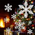 Christmas Snowflakes Window Clings Wall Stickers New Year Decor Us