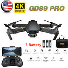GD89 PRO RC Drone 4K Camera Auto Avoid Obstacle Track Flight Quadcopter USA N1I3
