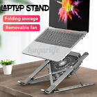 Aluminium Laptop Stand Foldable Tablet Stand Holder with Cooling Fan Cooler R