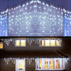 13-130 FT Wedding LED Fairy Christmas Indoor Outdoor Curtain Icicle Lights Decor