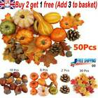 Artificial Pumpkin Harvest Autumn Fall Thanksgiving Wreath Banquet Home Decor T2