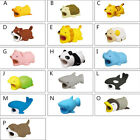 Cartoon Animal Charger Cable Cord Protector for iPhone Mobile Phone Cell Phone A