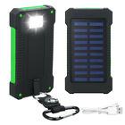 Portable New Solar Power Bank 3000000mAh LED 2USB Polymer Backup Battery Charger