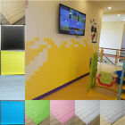 5pcs 3d Wall Stickers Self-adhesive Home Living Room Tv Background Decoration