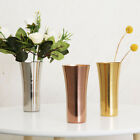 Home Decoration Dining Table Flower Vase Hotel Stainless Steel Wedding Party