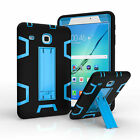 For Samsung Galaxy Tab E 8.0 T377 Defender Shockproof Hybrid Stand Case Cover