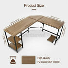 Multi-Style Computer Desk L-Shaped Laptop Table Workstation Study Home Office US