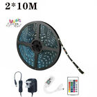RGB LED Strip Lights 5-20M WIFI Remote Control for Room Bedroom TV Party Decor