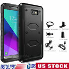 For Samsung Galaxy J3 2017/Emerge/Prime Shockproof Rugged Case Cover+Accessories