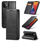 Luxury Leather Magnetic Wallet Card Slot Phone Case For Iphone 12 11pro Max Mini