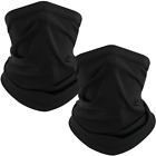 TICONN Neck Gaiter (2 Pack), Outdoor Breathable Face Cover, Ideal for Hiking Run