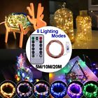 LED String Light Copper Wire Battery Waterproof Christmas Wedding Decor 5 10 20M