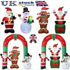 'Giant Christmas Inflatable Santa Snowman Xmas Blow Up Toy Outdoor Decor Lot